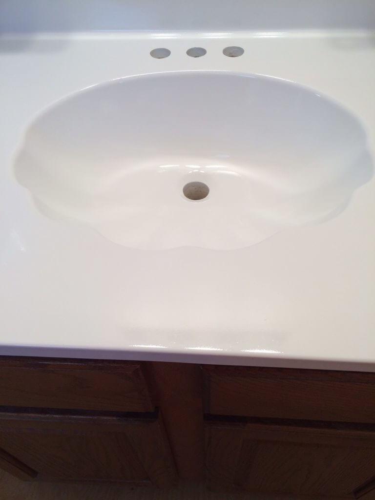 Refinish Cultured Marble Sink Portfolio Before After Photos Bathtub Refinishing Ohio